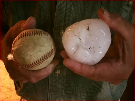 nisswa hail, minnesota hail, nisswa minnesota hail, baseball hail nisswa minnesota june 19 2016, baseball hail minnesota june 2016, baseball hail nisswa june 2016