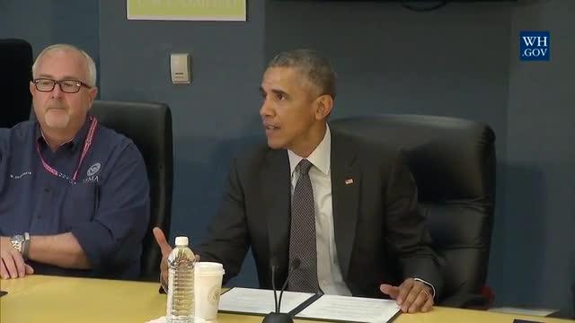 obama avvertimento stagione degli uragani 2016, Obama: Preparare a fuggire Clima-causati uragano devastazione, Obama: prepararsi per catastrofica stagione degli uragani 2016, la stagione degli uragani 2016, Obama stagione degli uragani 2016
