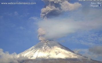 popocatepetl volcano eruption june 23 2016