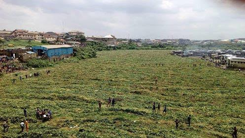 river turns dry nigeria africa, river turns dry overnight nigeria africa, river turns dry nigeria africa june 18 2016, river turns dry mysteriously in lagos nigeria africa, mysterious river disappearance nigeria june 2016, river turns dry nigeria africa video, river turns dry nigeria africa pictures