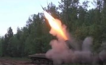 rockets to fight fires, new way to fight fires, how to stop forest fires, New way to fight forest fires: Rocket launch from Meteorite Mineclearing Vehicle, russia uses bombs to stop forest fires, forest fires bombs
