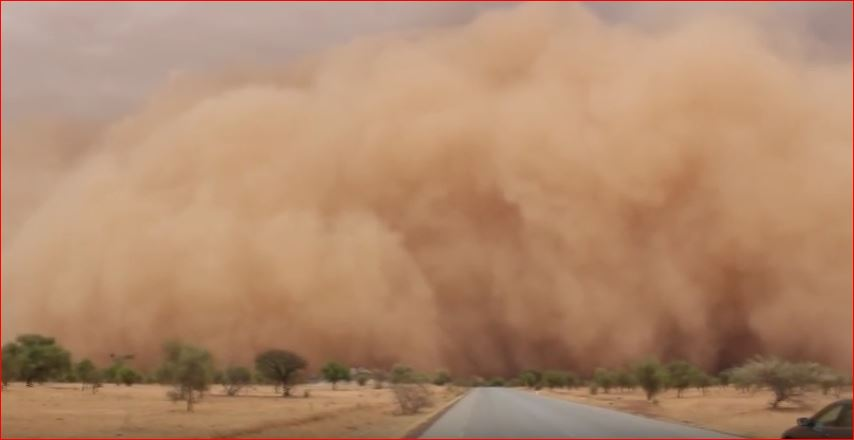 sandstorm sahel, apocalyptical sandstorm sahel, furious sandstorm sahel video, sandstorm sahel video, sandstorm sahel june 2016 video, sandstorm sahel may 2016 video, furious dust storm video sahel, africa dust storm video may 2016