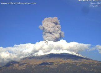 volcano eruption, popocatepetl explosion, volcano eruption june 28 2016, popocatepetl explosion june 28 2016