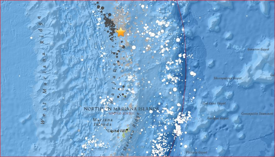 M7.7 earthquake mariana islands pacific ocean, M7.7 earthquake mariana islands pacific ocean map, M7.7 earthquake mariana islands pacific ocean usgs, major earthquake Northern Mariana Islands, powerful earthquake Northern Mariana Islands