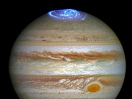jupiter aurora, jupiter aurora photo, jupiter aurora video, jupiter northern lights, juno jupiter aurora, auroras jupiter 2016, jupiter aurora 2016 pictures and videos