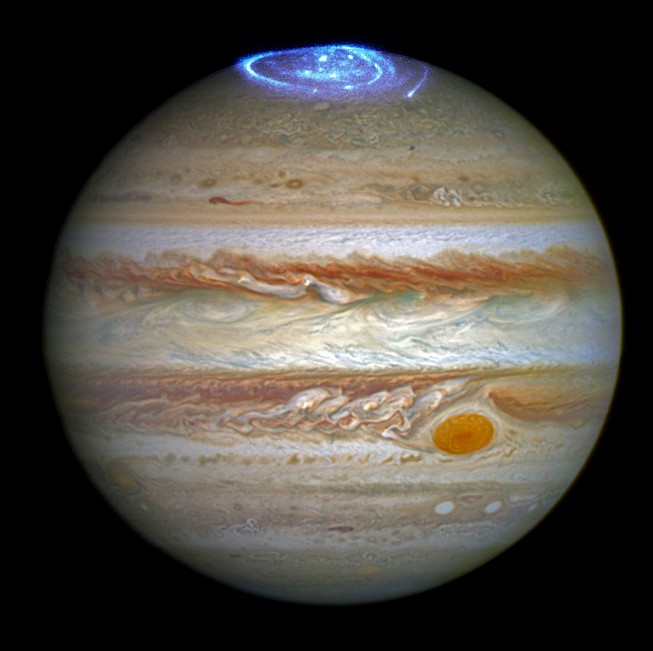 jupiter aurora, jupiter aurora photo, jupiter aurora video, jupiter northern lights, juno jupiter aurora, auroras jupiter 2016, jupiter aurora 2016 pictures and videos