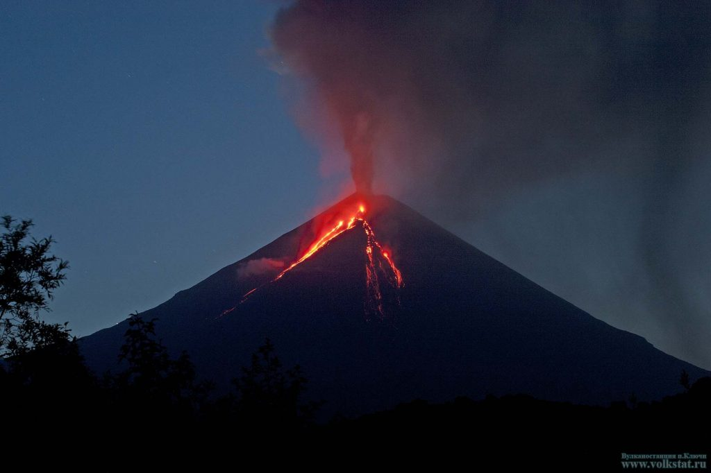 Volcanic unrest around the world Kamchatka-volcano