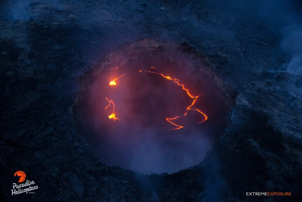 kilauea lava laughing volcano, laughing volcano hawaii, after reaching ocean lava laughs in hawaii, laughing lava hawaii eruption