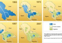 lake chad disappearing, lake chad dry, lake chad drying up