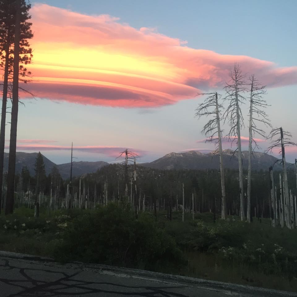 lenticular cloud lake tahoe, lenticular cloud lake tahoe pictures, lenticular cloud lake tahoe solstice, lenticular cloud lake tahoe summer solstice, eerie lenticular cloud lake tahoe 2016