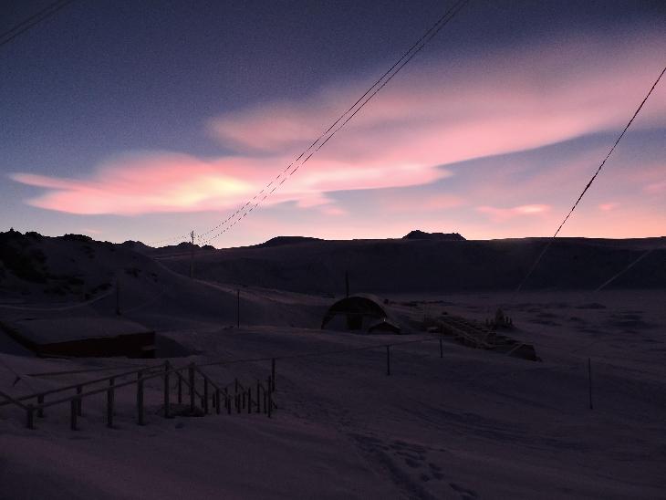 polar stratospheric cloud antarctica, biggest polar stratospheric cloud antarctica, polar stratospheric cloud antarctica july 2016, polar stratospheric cloud antarctica picture, polar stratospheric cloud antarctica photo july 2016