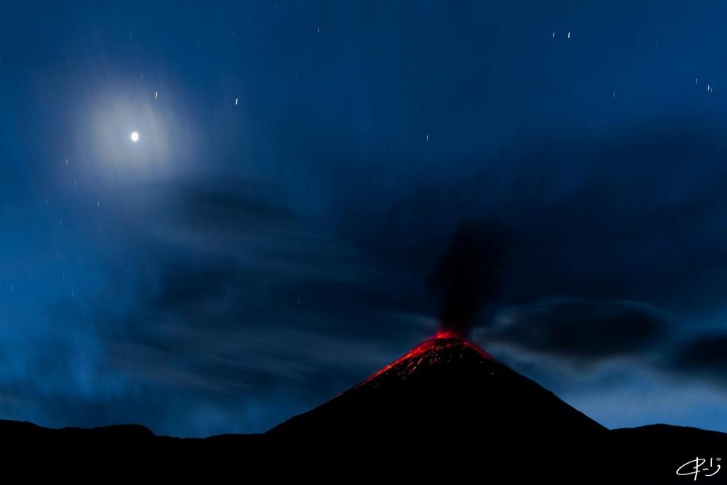 reventador volcano, reventador volcano eruption july 2016, reventador volcano explosion july 2016