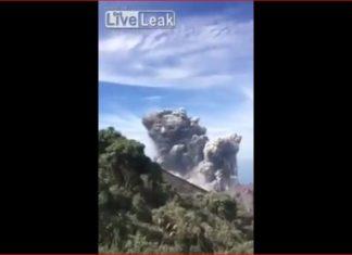 santiaguito eruption video july 1 2016, Eruption of the Santiaguito volcano captured on video on July 1 2016, santa maria volcano eruption video, video santiaguito eruption july 1 2016
