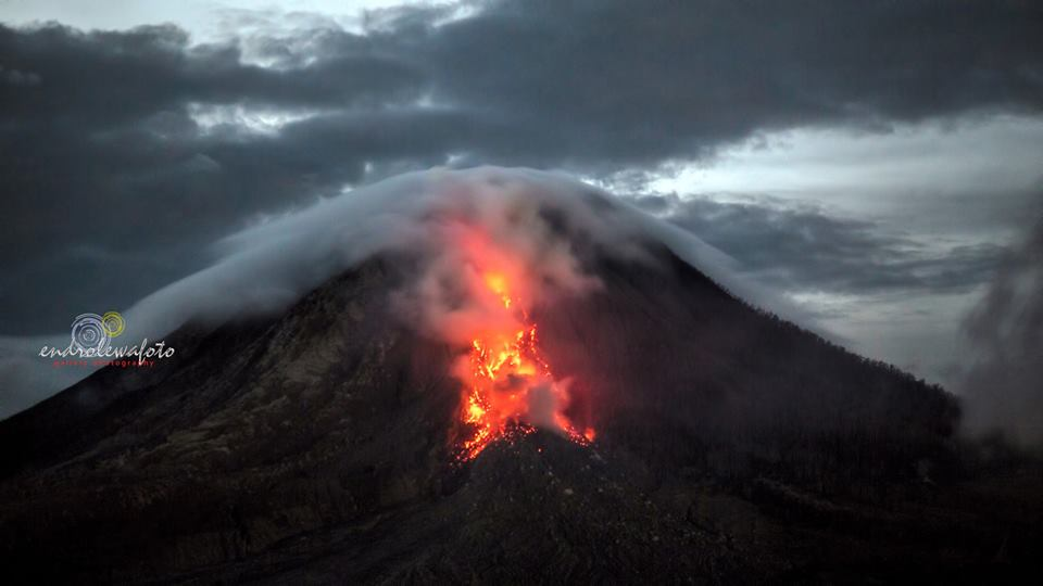 Volcanic unrest around the world Sinabung-volcano-1