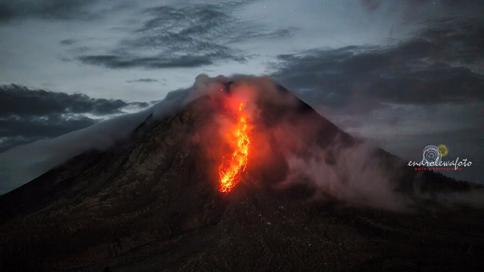 Volcanic unrest around the world Sinabung-volcano-2