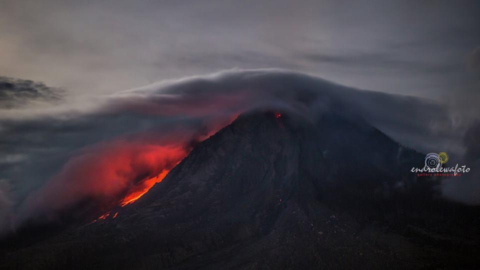 sinabung volcano, sinabung volcano picture, sinabung volcano eruption july 2016, Endro Lewa