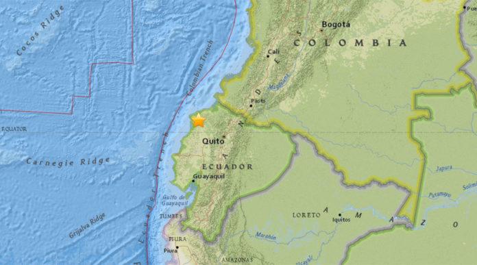 two powerful earthquakes hit ecuador, ecuador two strong earthquake, two strong quakes hit ecuador july 10 2016, two quakes hit ecuador july 10 2016
