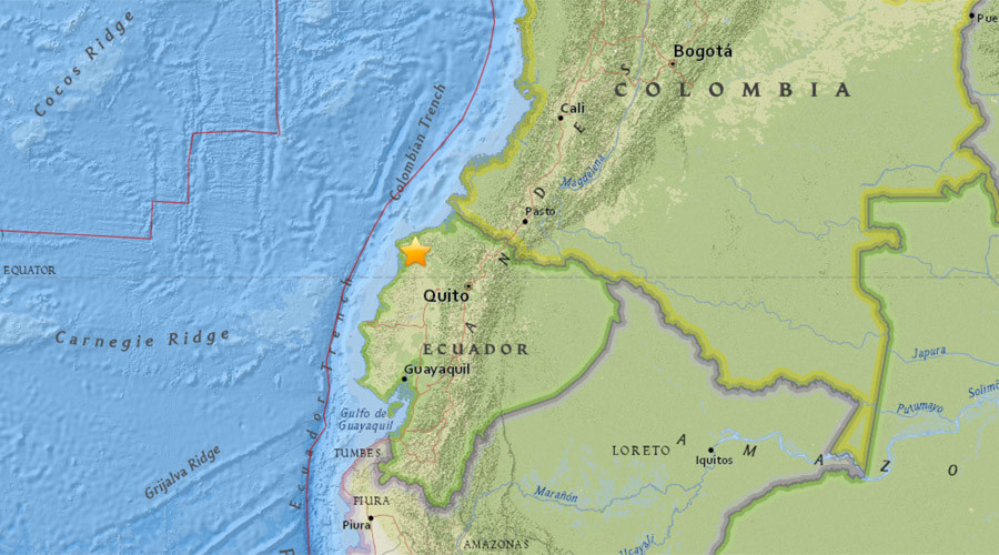 two powerful earthquakes hit ecuador, ecuador two strong earthquake, two strong quakes hit ecuador july 10 2016, two quakes hit ecuador july 10 2016