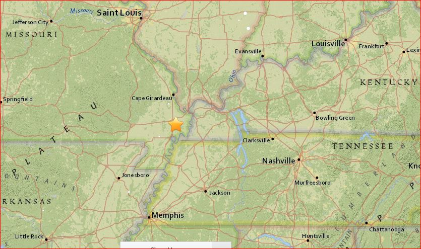 4 earthquakes rattle Missouri, Illinois, Kansas and New ...