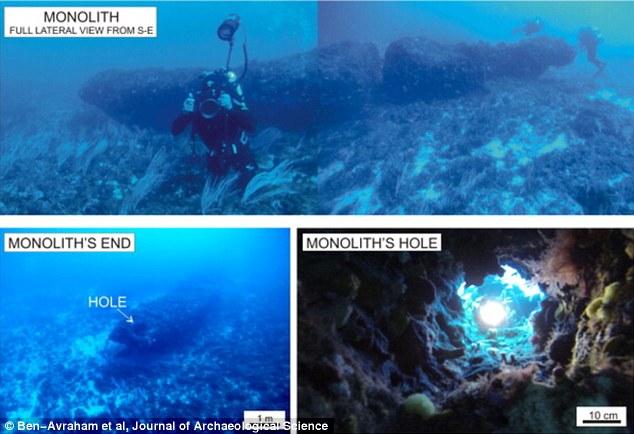 enormous monolith mediterranean sea, enormous monolith mediterranean sea august 2016, enormous monolith mediterranean sea august 2015, ancient civilisation enormous monolith mediterranean sea