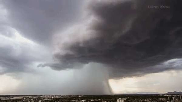 gigantic cloud phoenix arizona, microburst gigantic cloud phoenix arizona, atomic cloud gigantic cloud phoenix arizona, weird cloud gigantic cloud phoenix arizona