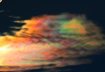 iridescent cloud, iridescent cloud pictures, iridescent cloud chile, iridescent cloud video, crazy iridescent cloud