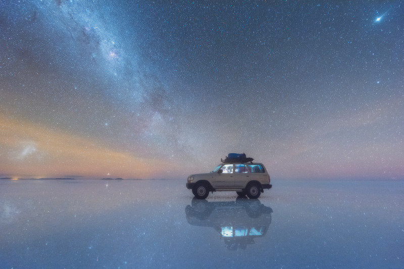 milky way bolivia Salar de Uyuni, milky way over Salar de Uyuni, milky way bolivia Salar de Uyuni piture, milky way bolivia Salar de Uyuni video