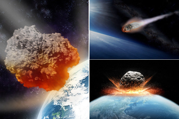 Apocalyptic asteroid with power of 3 billion nukes may be headed for Earth , asteroid collision earth, asteroid earth collision, A GIGANTIC asteroid with the power of more than three billion nukes is hurtling towards Earth