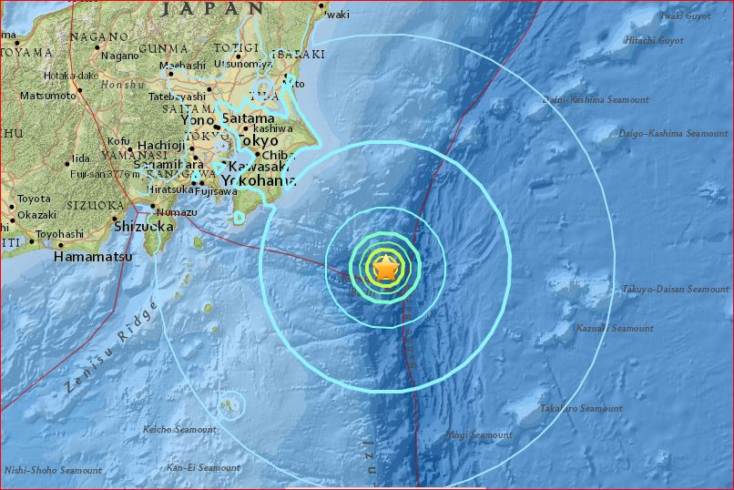 M6.2 earthquake followed by series of 11 quakes hit Japan