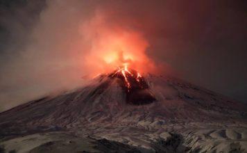 kamchatka volcano eruption, Klyuchevskaya Sopka eruption, sheveluch eruption