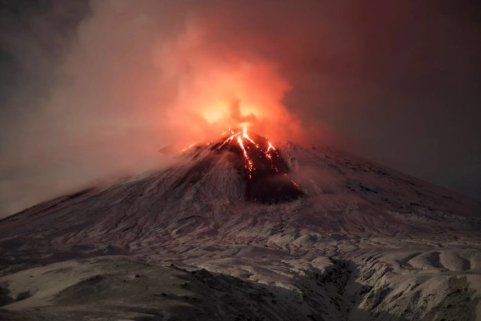 kamchatka volcano eruption, Klyuchevskaya Sopka eruption, sheveluch eruption