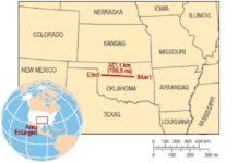 The longest lightning bolt measured 199.5 miles in Oklahoma,longest lightning, longest lightning bolt, longest lightning oklahoma, longest lightning bolt oklahoma