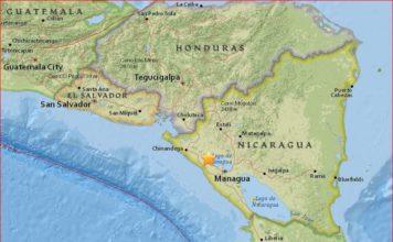 nicaragua earthquake momotombo volcano, earthquake near volcano in nicaragua, nicaragua earthquake near momotombo volcano