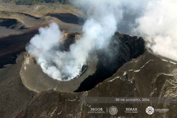 popocatepetl, popocatepetl eruption, volcano eruption, popocatepetl eruption triggers M3 earthquake
