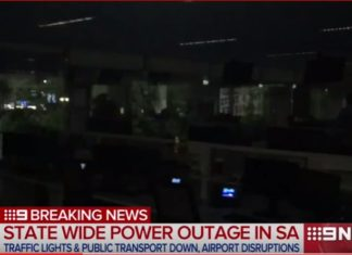 Entire state of South Australia loses power, south australia power outage, south australia storm,