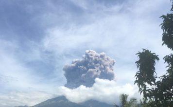 rinjani, rinjani eruption september 27 2016, rinjani eruption, rinjani eruption indonesia, rinjani eruption lombok, rinjani eruption september 27 2016