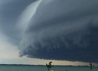 shelf cloud, shelf cloud michigan, shelf cloud pictures
