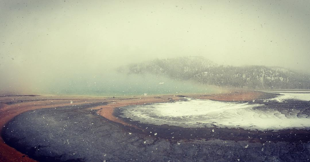 snowstorm yellowstone, yellowstone blizzard, snowstorm yellowstone september 2016, snowstorm yellowstone pictures, snowstorm yellowstone video
