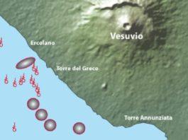 6 new underwater volcanoes near vesuvius, 6 new underwater volcanoes near vesuvius italy, 6 previously unknown volcano found in itly, italy new volcano discovery, vesuvius volcano discovery