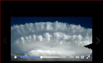 cloud, anvil cloud, anvil cloud argentina, anvil cloud argentina video, anvil cloud argentina october 2016
