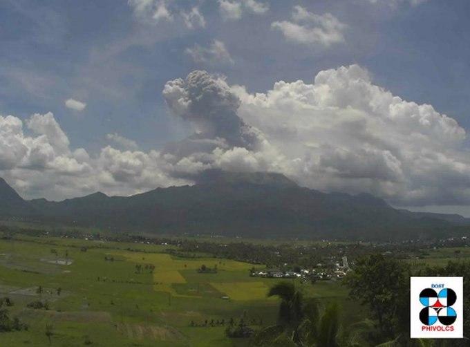 bulusan volcano, bulusan volcano activity, bulusan volcano pictures, bulusan volcano video