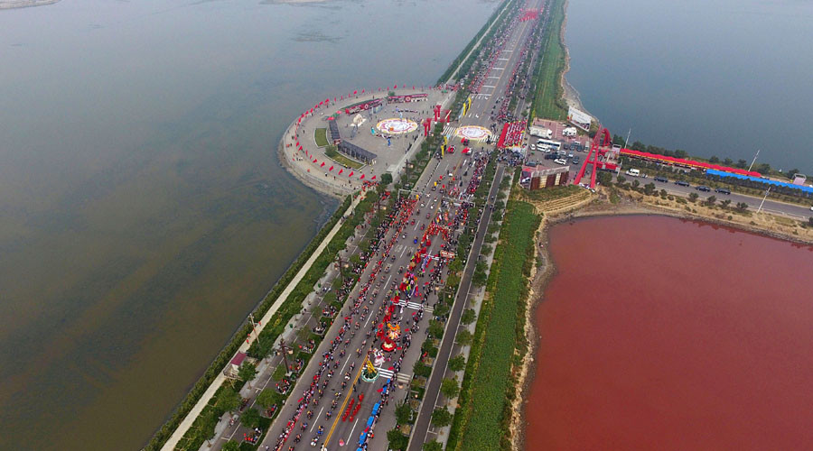 china dead sea blood red, lake turns blood red china, china lake red, lake china turns blood red, China Dead Sea turns blood red PHOTOS VIDEO