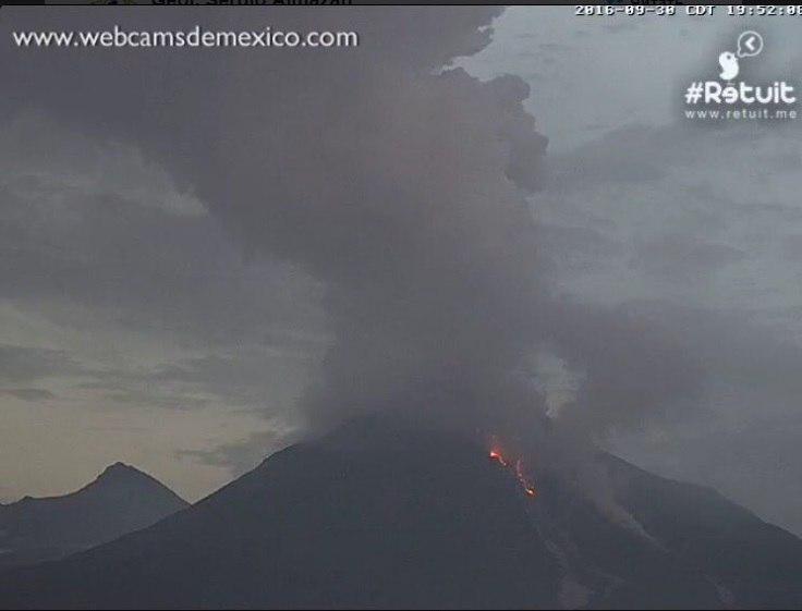 colima, colima volcano eruption september 30 2016, colima volcano eruption september 30 2016 video, colima volcano eruption september 30 2016 pictures, colima eruption, colima mexico, colima volcano eruption september 30 2016