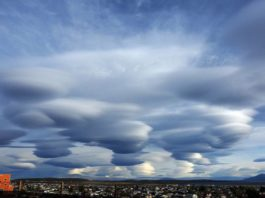 lenticular clouds, chile lenticular clouds, chile ufo clouds, giant lenticular clouds chile