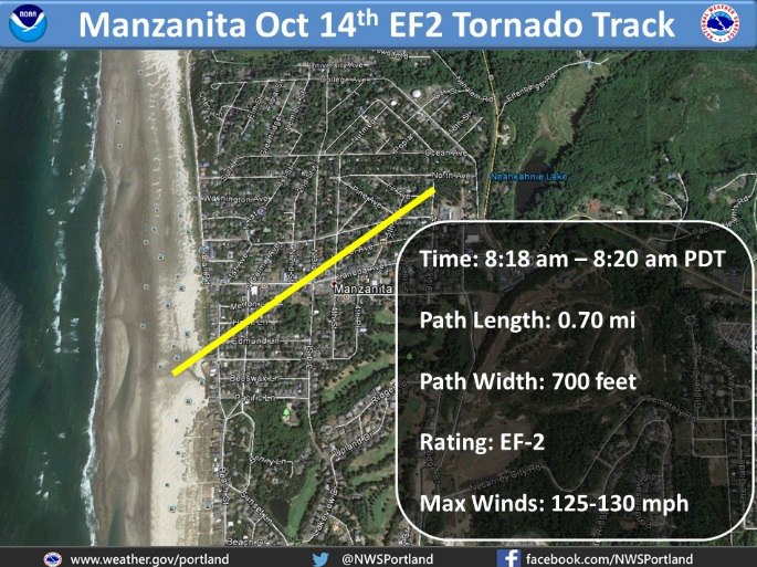 manzanita tornado, oregon tornado, manzanita oregon tornado, ef2 tornado oregon manzanita, tornado manzanita october 14 2016 video and pictures