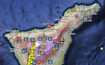 tenerife earthquake swarm, teide volcano earthquake swarm, teide volcano earthquake, 90 earthquakes hit tenerife, enhanced seismic activity tenerife, tenerife quake series, tenerife earthquake swarm october 2016