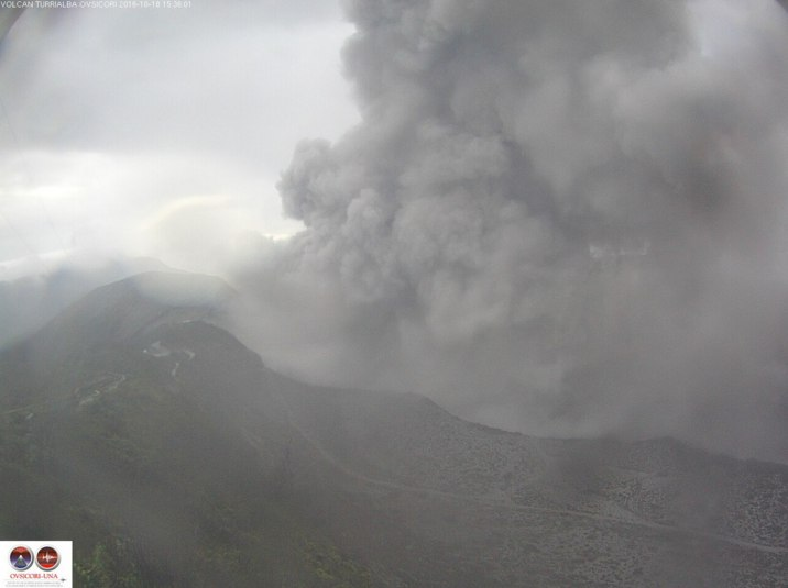 turrialba, turrialba explosion, turrialba explosion october 2016, turrialba eruption 2016 video, turrialba explosion pictures