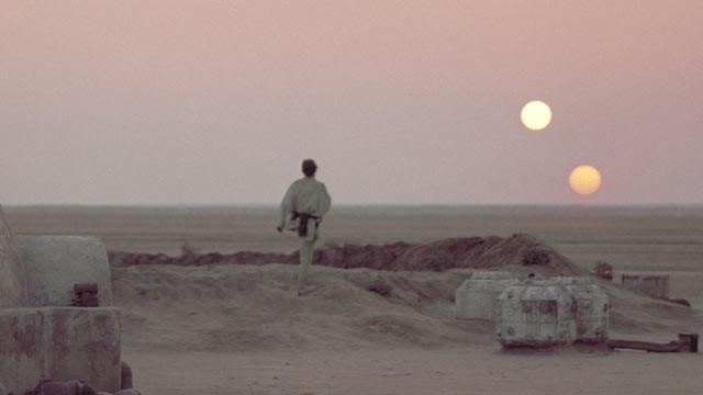 two suns Tatooine, two suns Tatooine  star wars, multiple rainbow
