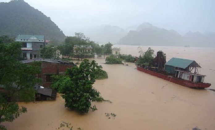 vietnam floods, vietnam monsoon, vietnam flooding