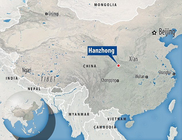 49 sinkholes china, china sinkhole, sinkholes discovered in china, cluster of giant sinkhole discovered in china